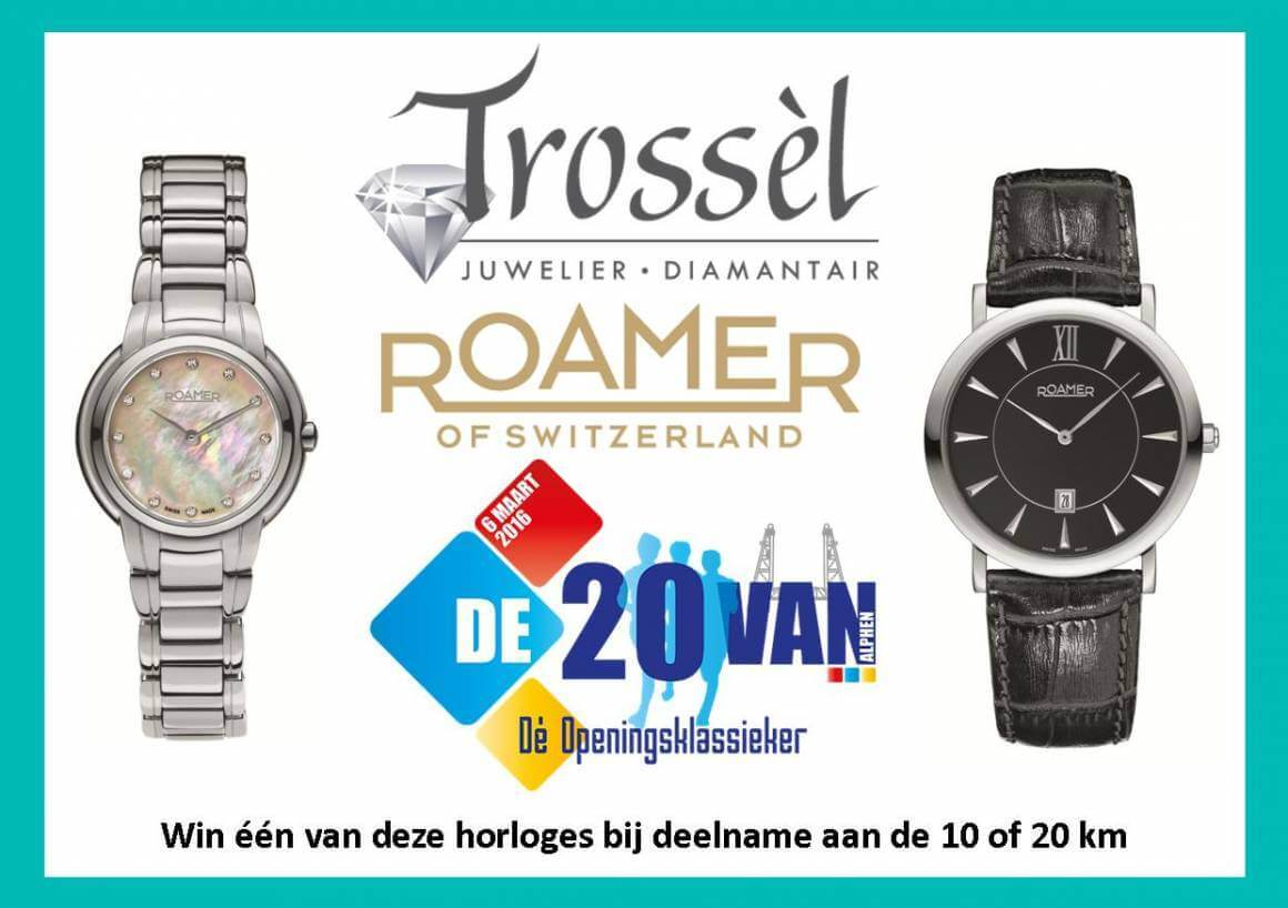 20 van Alphen, Roamer en Juwelier Trossèl