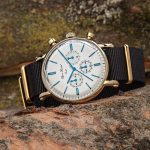 Bjorn Hendal White dial yellow gold